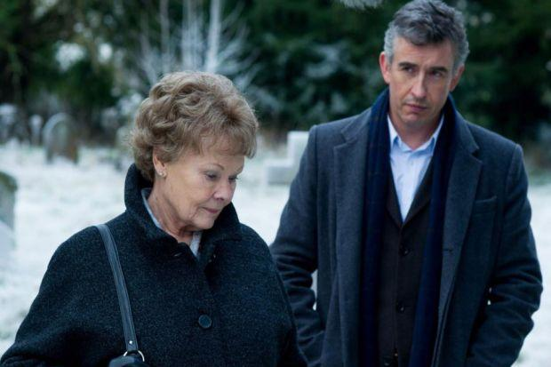 OPPOSITES Judi Dench and Steve Coogan star as subject and author.
