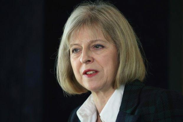 Theresa May said an independent Scotland would be more vulnerable to terrorism
