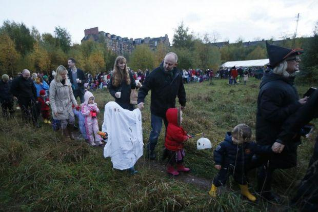 FRONTLINE FAMILIES: A campaign to preserve North Kelvin Meadow from development contributed to award success.       Picture: Colin Mearns