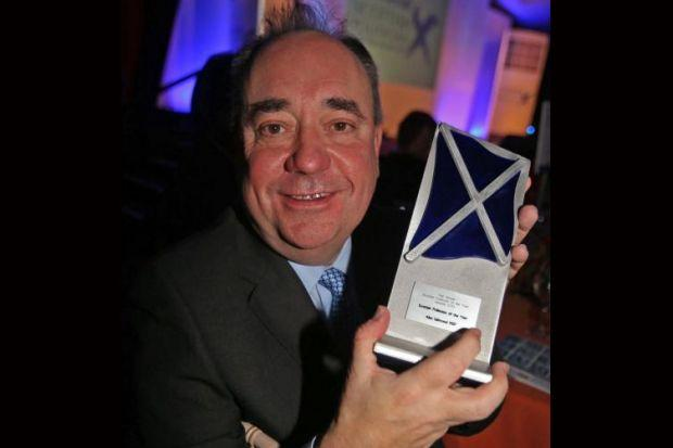 Landmark victory as Salmond crowned Politician of the Year