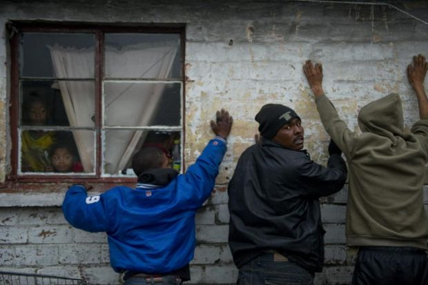 Criminal gangs fuelled by the drug they call tik terrorise Cape Flats in South Africa, where one in five children is already an addict 	Photograph: AP