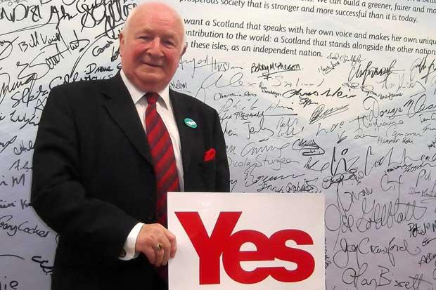 Another Labour stalwart backs indyref Yes vote