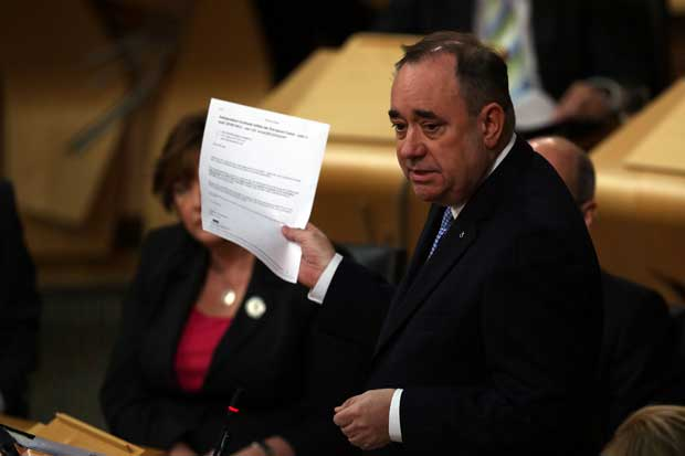 FM: here's letter that proves iScotland would still be in EU