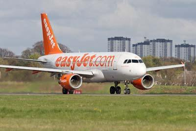 Like a roller coaster: EasyJet plane from London aborts landings at Glasgow and Edinburgh