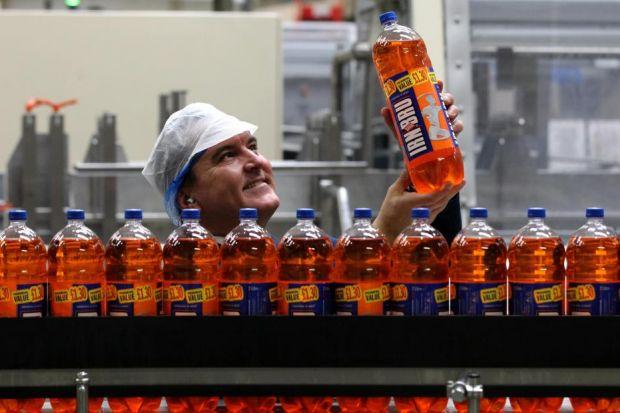 LOT OF BOTTLE: The AG Barr management team is confident about prospects for the festive season. Picture: PA