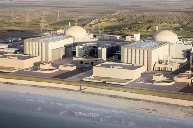 HINKLEY: Somerset site is the first nuclear power station to be built in the UK since 1995.