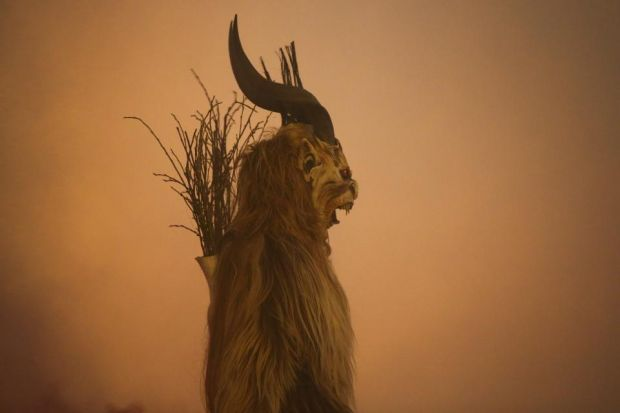Austrian children have Krampus to fear
