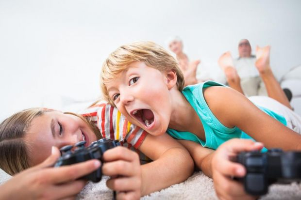 Children always long for a gadget at Christmas but technology has grown to dominate the occasionMontage: Damian Shields