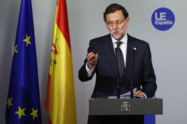 Spanish Prime Minister Mariano Rajoy said earlier this month that any part of an EU state chosing independence would have to re-apply for membershipPhotograph: Reuters