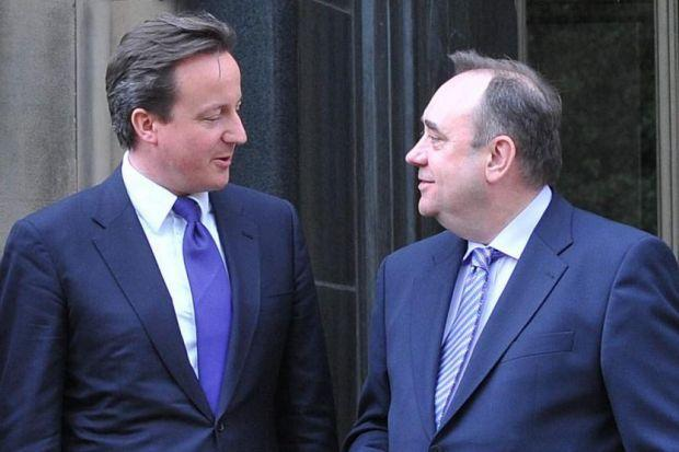 Poll reveals Scots and English want Salmond and Cameron to debate indyref