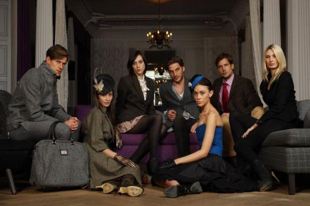 IN FASHION: Harris Tweed is the star.