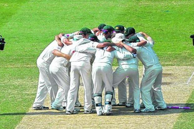 Australia celebrate after completing an Ashes whitewash in Sydney