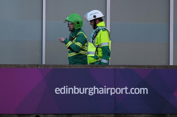 Edinburgh airport to reopen following suspect package find