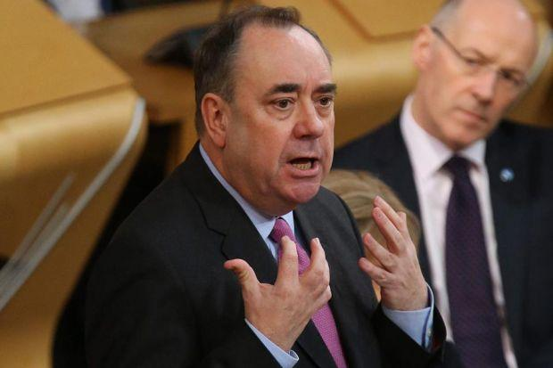 Salmond: thousands more to be given free childcare