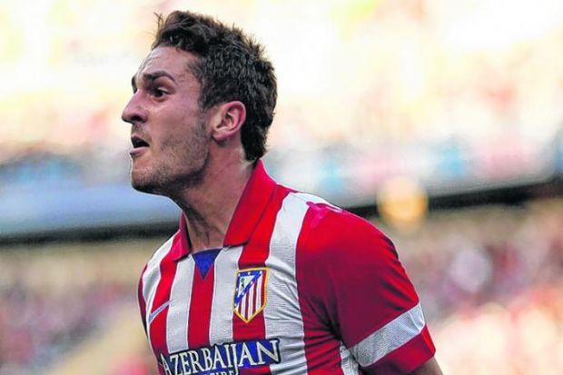Koke, the young Atletico Madrid midfielder, is wanted by several big clubs in England. Picture: Jon Nazca/Reuters