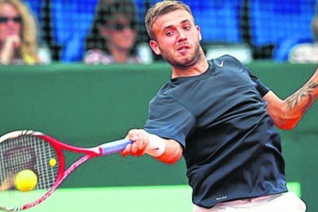 Dan Evans: lost tamely in second round of Australian Open qualifying. Picture: Julian Finney/Getty Images