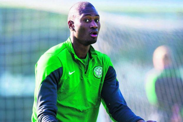 At 22, Amido Balde is not the finished article but there are signs he can do a job for Celtic Photograph: SNS