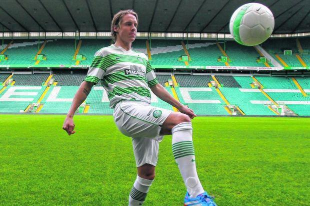 Stefan Johansen says he is a passing midfielder eager to score and assist. Picture: Colin Mearns
