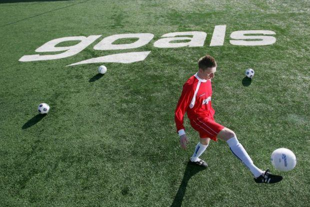 PERFECT PITCH: Goals' chief executive Keith Rogers said the company had thorough knowledge of football in the United States and wanted to utilise that. Picture: Goals Soccer Centres