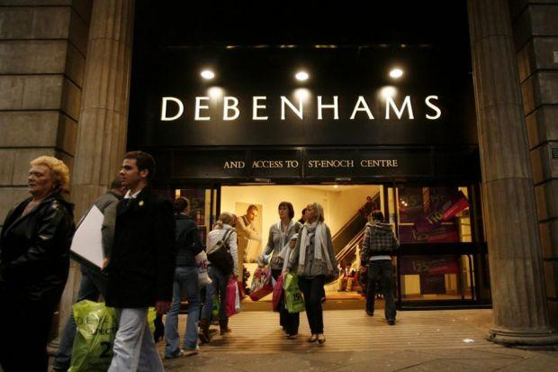 FAST OUT THE BLOCKS: Sports Direct, owned by Mike Ashley, has sold its 56.8 million Debenhams shares.