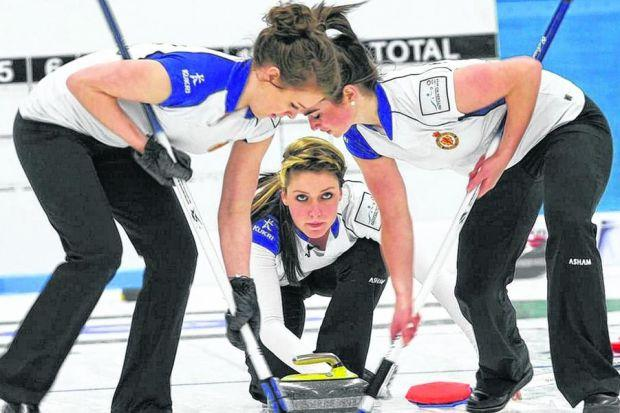FIFTH ELEMENT: Lauren Gray  is the alternate  for Eve Muirhead's Olympic rink. Picture:  Leslie Ingram-Brown