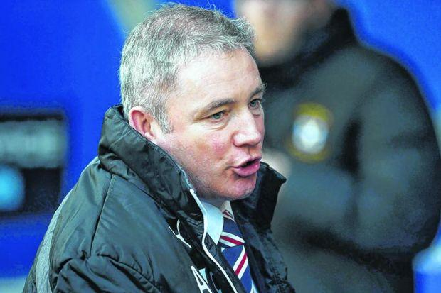 IN SAFE HANDS: Ally McCoist revealed he has been given a