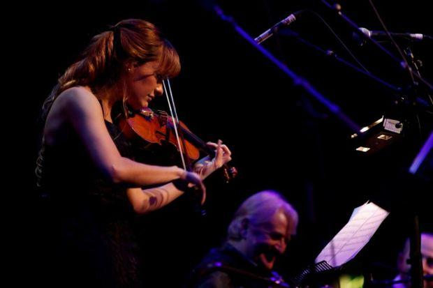 Nicola Benedetti performs at the Celtic Connections Opening Concert