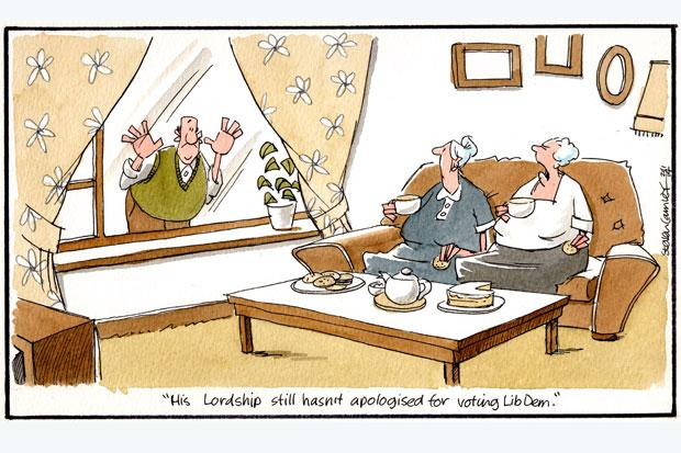 Camley's Cartoons: on LibDem peer vows to take party over suspension