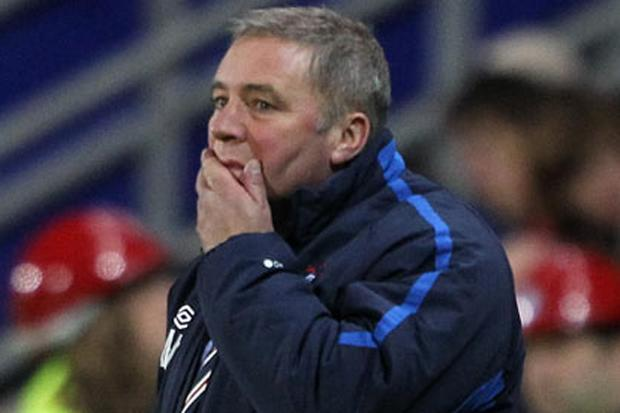 McCoist: it's mad - but exciting - that we're in second tier with Hearts, Hibs