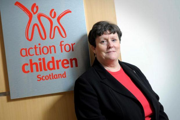 CHILDREN'S CHAMPION: Carol Iddon warns of the risk of more public sector cuts as she bids to help children in care.                          Picture: Kirsty Anderson