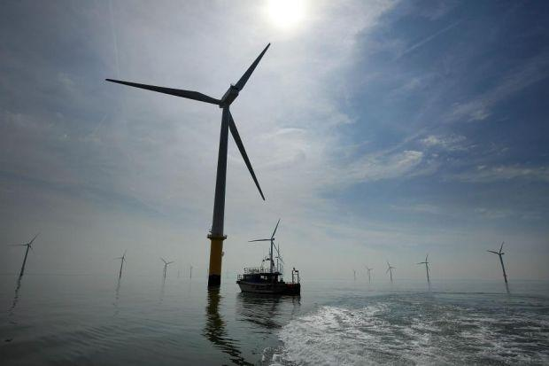 POTENTIAL: Industry experts say Scotland could produce enough electricty from offshore wind farms to power three million homes. Picture: Getty