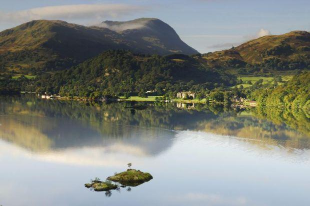 The majesty of Ullswater and its surroundings have long drawn motorists to the area. Photograph: Shutterstock