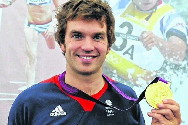 Tim Baillie will not defend his Olympic gold medal. Picture: Nick Ponty