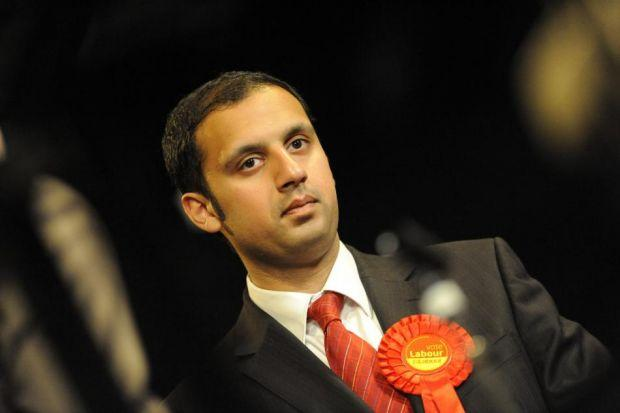 Anas Sarwar, Scottish Labour's deputy leader, is under fire for sending his son to a private schoolPhotograph: James Galloway