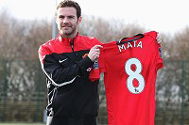 Mata: I'm relishing chance to play with Rooney at Man Utd