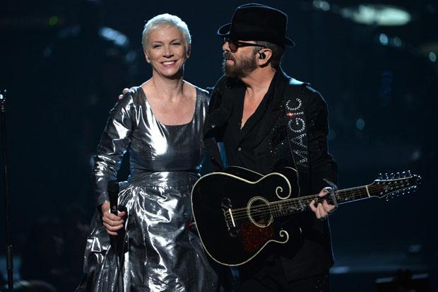 In pictures: Eurythmics reunite for Beatles special
