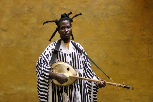 TRAILBLAZER: Champion of Ghana's pop music scene, King Ayisoba comes to play The East End Social music festival in April.