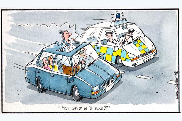 Camley's Cartoon: on the latest moves to ban smoking in cars carrying young passengers