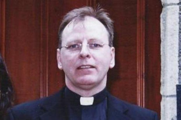 Father Patrick Lawson, who has been fighting for justice for 18 years