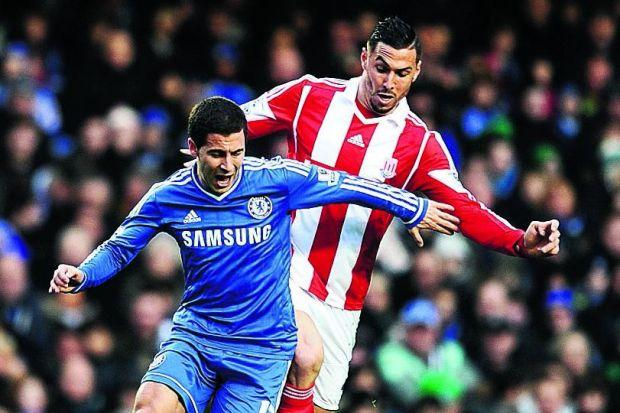 Eden Hazard will take on a different role to Andy CarrollPhotograph: PA