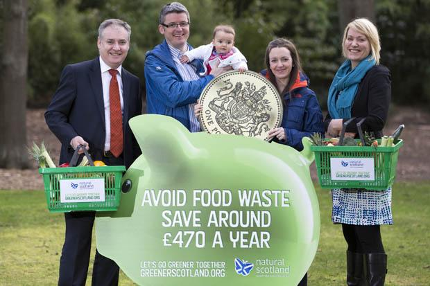 Zero Waste Scotland: reducing food waste could save households almost £40 a month