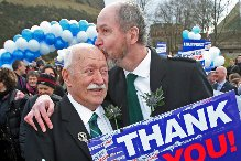 Gay marriages to go ahead after historic vote by MSPs