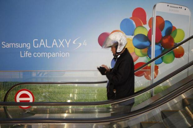 LOOKING AHEAD: Samsung is the Edinburgh-based firm's biggest customer, and Galaxy sales are doing well.