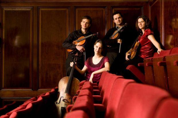 TO THE FOUR: The Elias Quartet will play Beethoven's Quintet in C at the festival. They are already involved in an 18-month project playing his quartets.