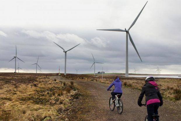 CHANGE OF SCENERY: Conservation groups are concerned about the impact of turbines. Picture: Brodie Duncan