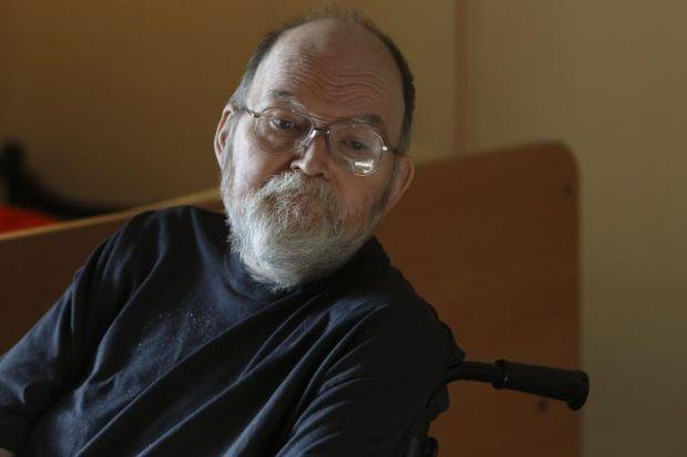 RIGHTS: Parkinson's sufferer Gordon Ross is taking legal action.