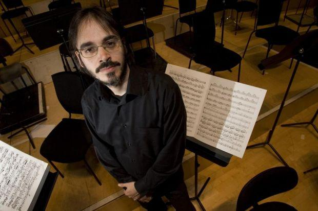 ILAN VOLKOV: The gung-ho BBC Scottish Symphony Orchestra principal guest conductor has staged versions of the Tectonics festival in other countries.
