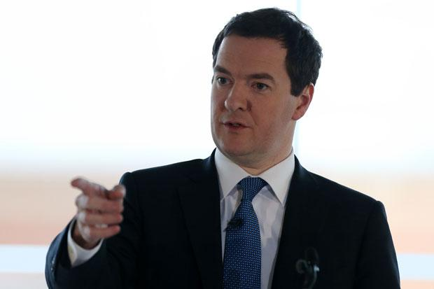 Osborne: if Scotland walks away from the UK it's also walking away from the pound