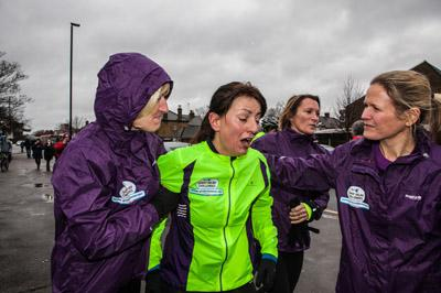 She's done it! Davina McCall weeps for final time after completing challenge
