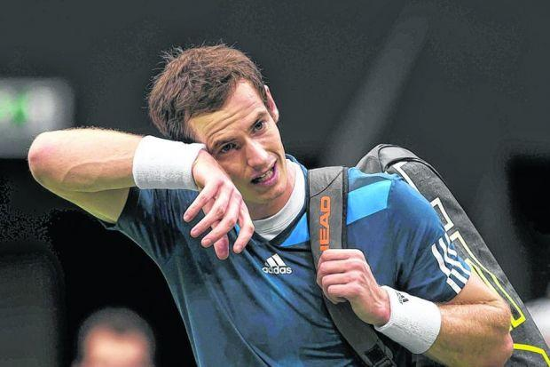 Andy Murray was beaten by Marin Cilic for only the second time in his career. Picture: Getty